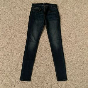 Express Mid Rise Jeggings